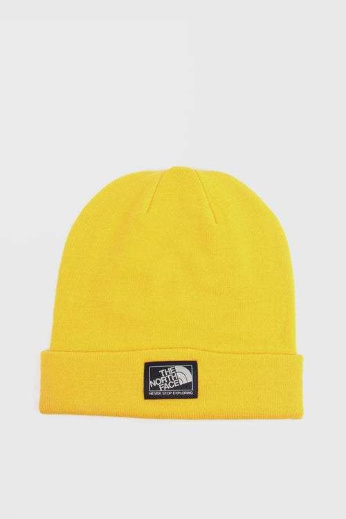 Dock Worker Beanie - leopard yellow