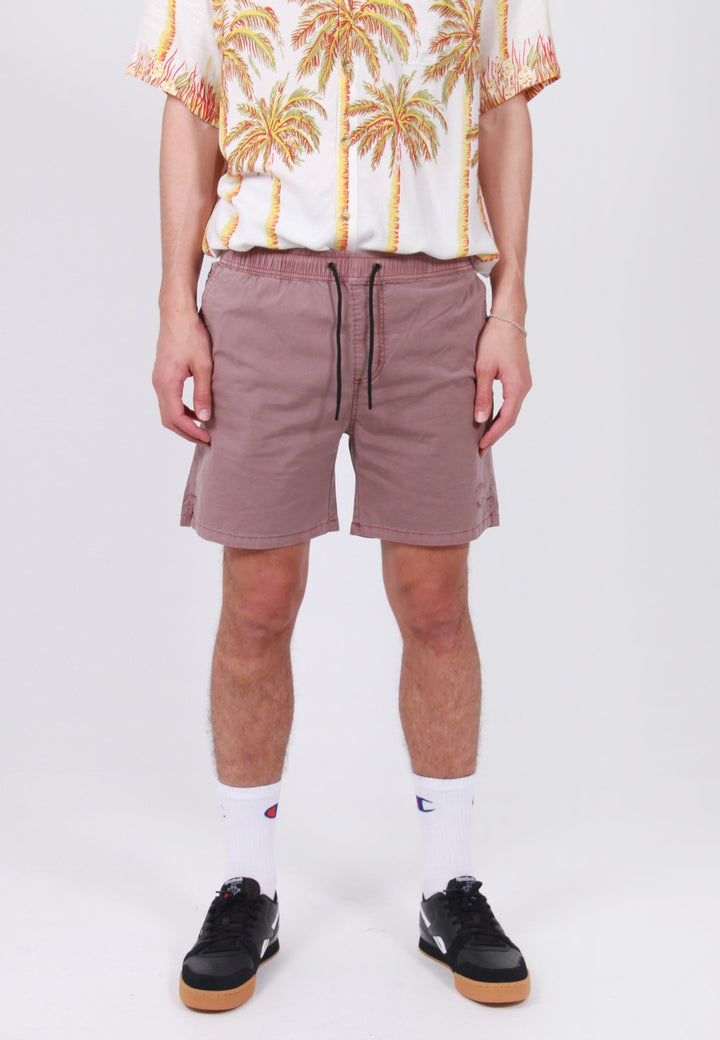 Rollas Beach Boy Circle Shorts - burgundy – Good as Gold