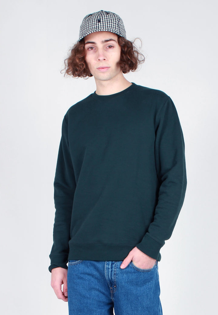 Norse Projects Vagn Classic Crew Sweater - bottle green - Good As Gold