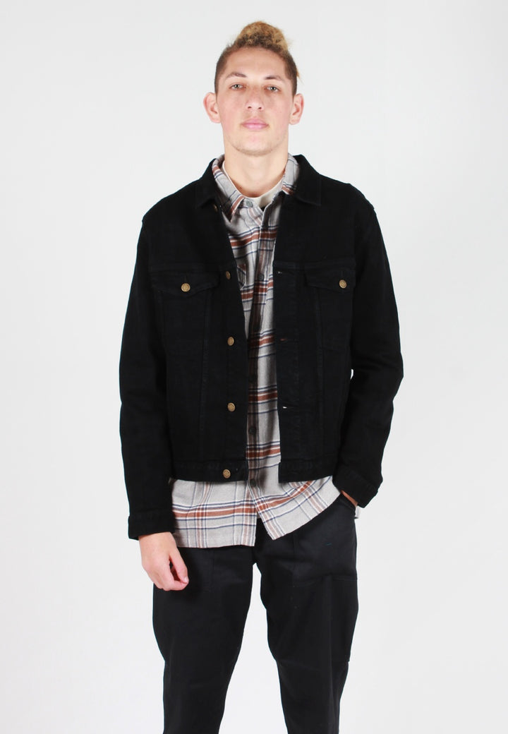 Rollas Denim Jacket - brut black - Good As Gold