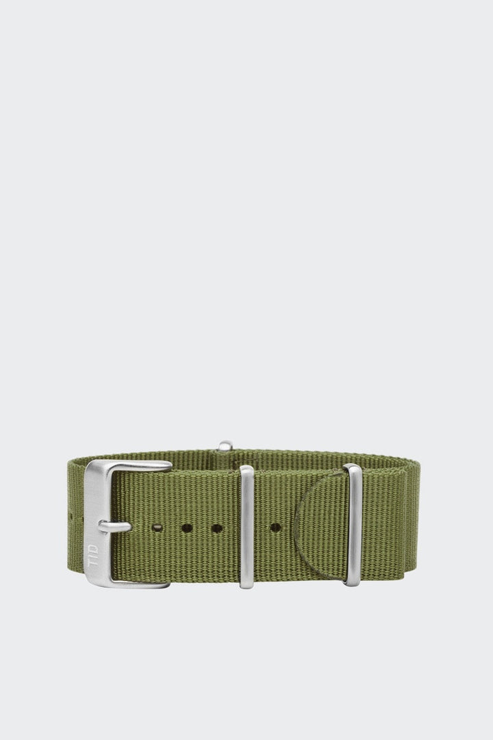 TID Watches Wristband - green nylon/steel buckle | GOOD AS GOLD | NZ