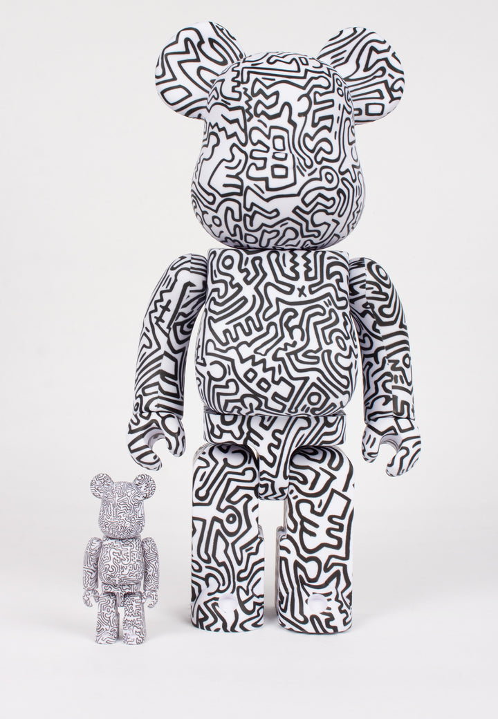 Medicom Toy | Be@rbrick X Keith Haring #4 - 100% & 400% figures | Good As Gold, NZ