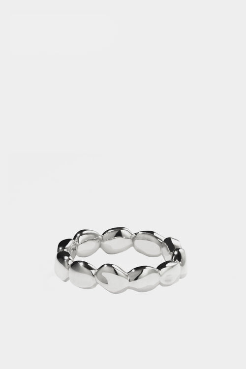 Meadowlark Petite Pebble Ring - silver