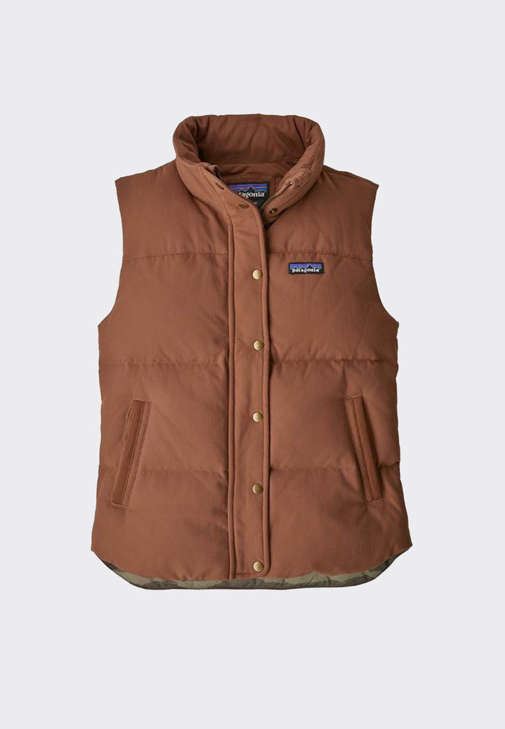 Womens Bivy Vest - sisu brown