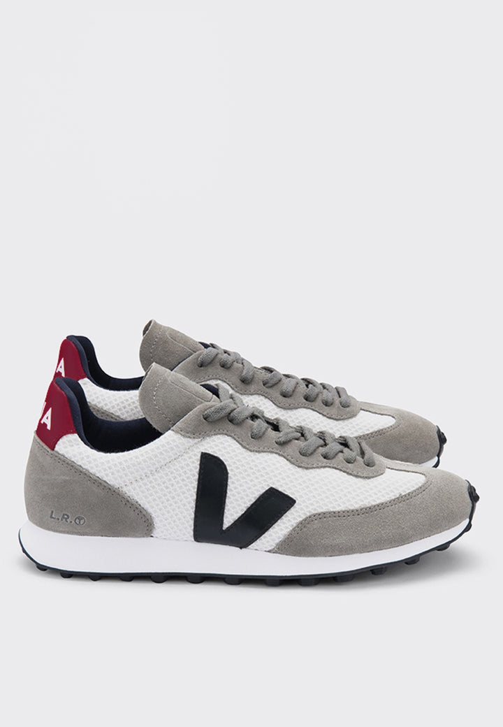 Veja | Riobranco Hexamesh - gravel/black/marsala | Good As Gold, NZ