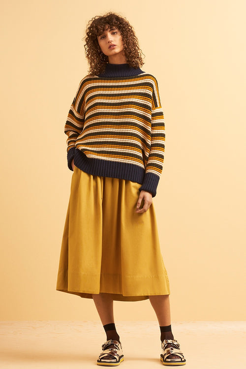 Kowtow Choreography Jumper - multi stripe | GOOD AS GOLD | NZ