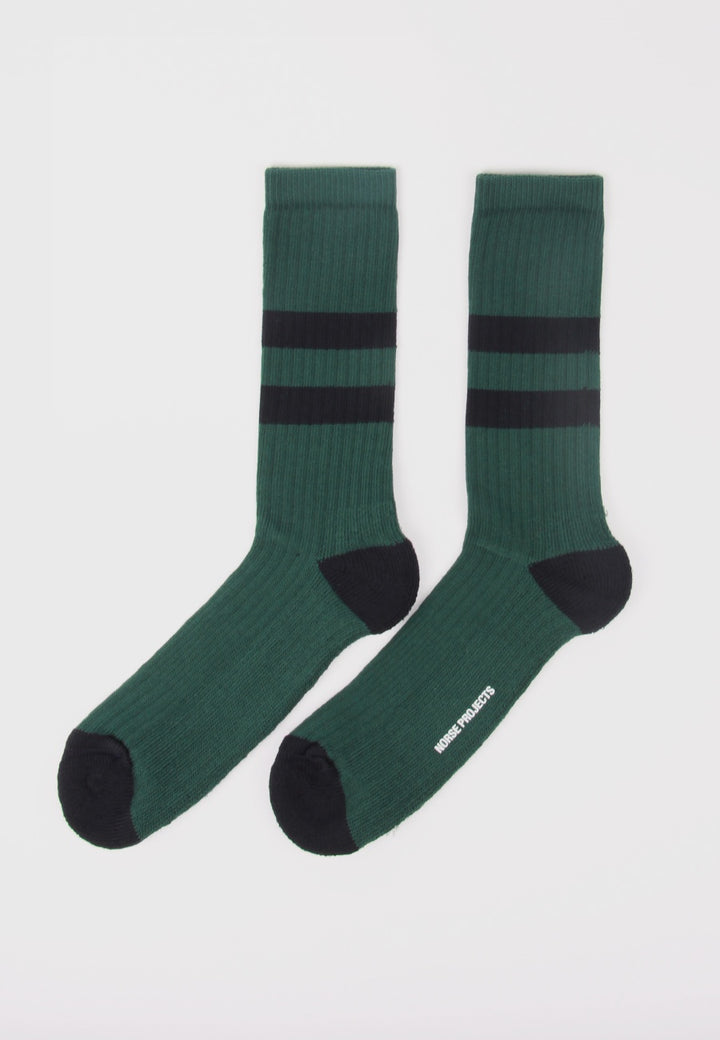 Bjarki Cotton Sport Socks - quartz green