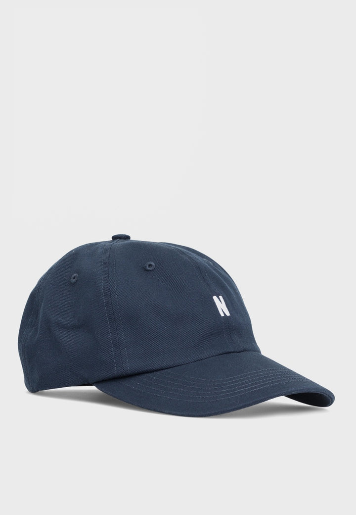 Norse Projects | Twill Sports Cap - dark navy | Good As Gold, NZ