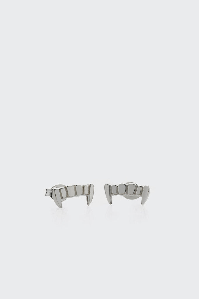 Meadowlark Fang Stud Earrings - silver | GOOD AS GOLD | NZ