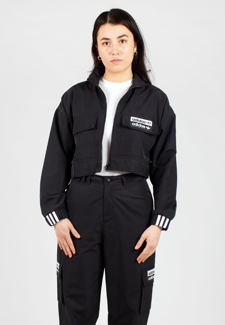 Adidas | Womens Track Top - black | Good As Gold, NZ