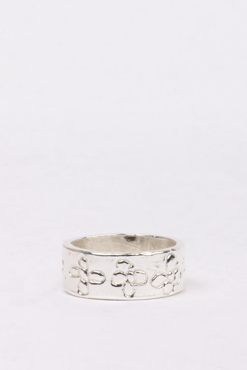 27Mollys Flower Band Ring - silver | GOOD AS GOLD | NZ