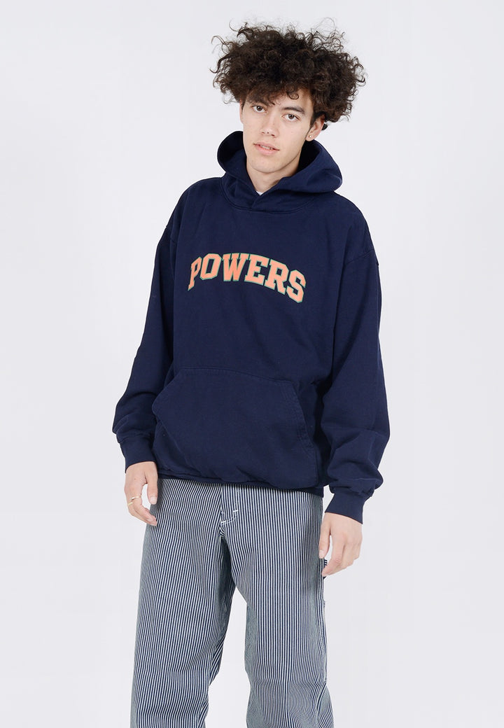 Powers Arch Hoodie - navy
