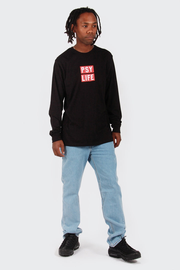 Perks and Mini So Life Long Sleeve T-Shirt - black | GOOD AS GOLD | NZ