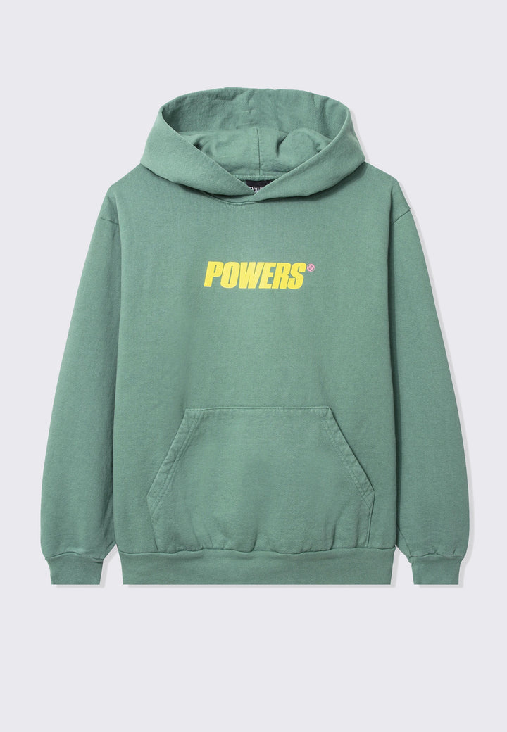 Spellout Hoodie - green