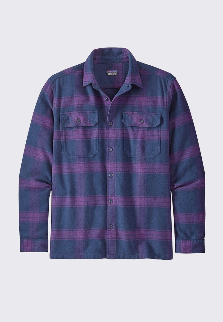 Fjord Flannel Shirt - burwood purple