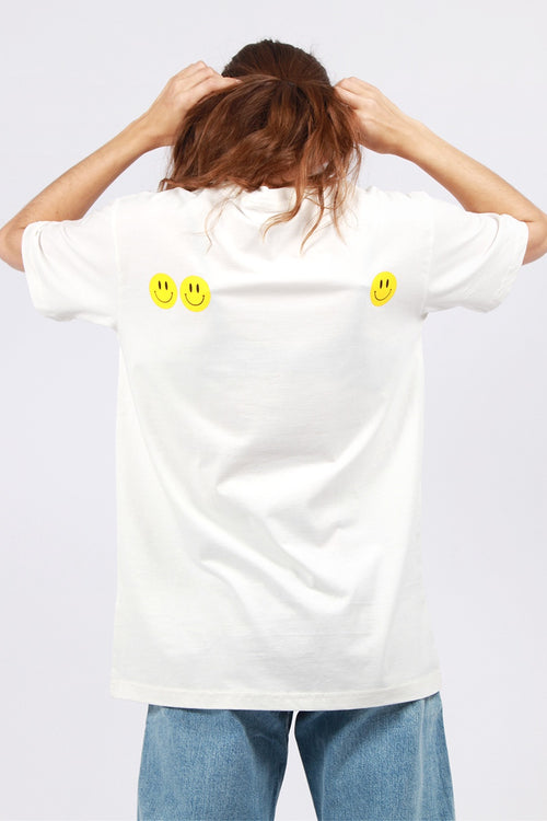 Good As Gold Smiley T-Shirt - white | GOOD AS GOLD | NZ