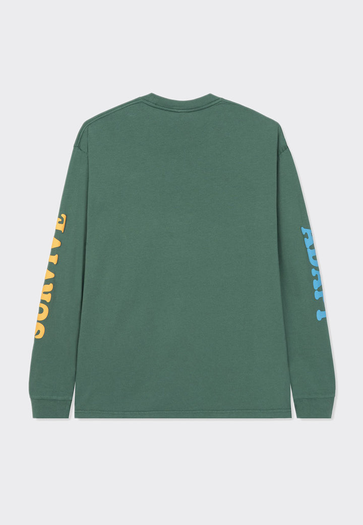 Adapt/Survive Long Sleeve T-Shirt - green