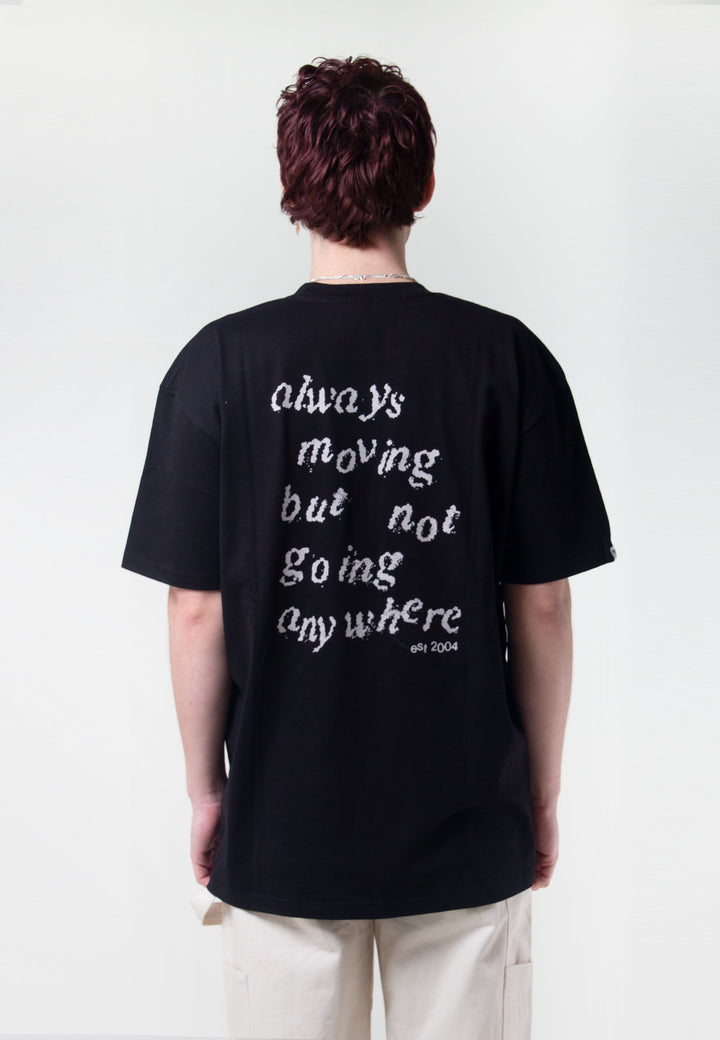Always Moving But Not Going Anywhere - black/grey