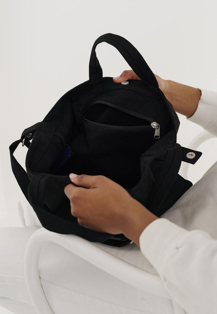 Horizontal Duck Bag - black