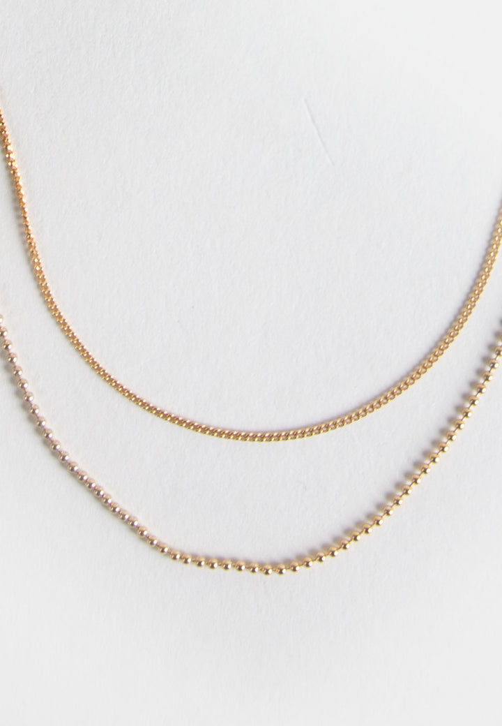 Bare Necklace - gold