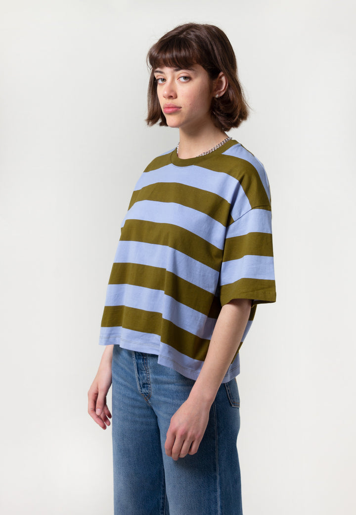 Building Block Boxy t-shirt - horizon lines