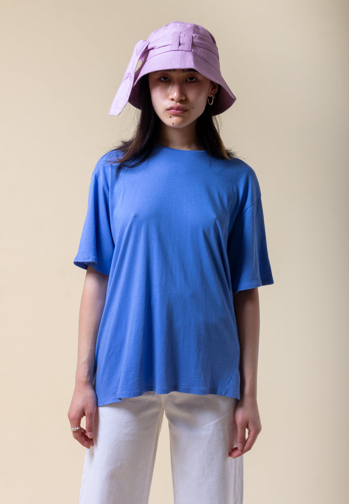 Building Block Light Tee - periwinkle blue