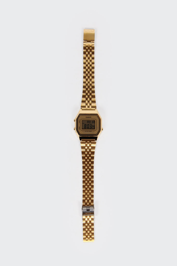 Casio, Classic Digital Watch (LA680WGA-9D), gold | GOOD AS GOLD | NZ