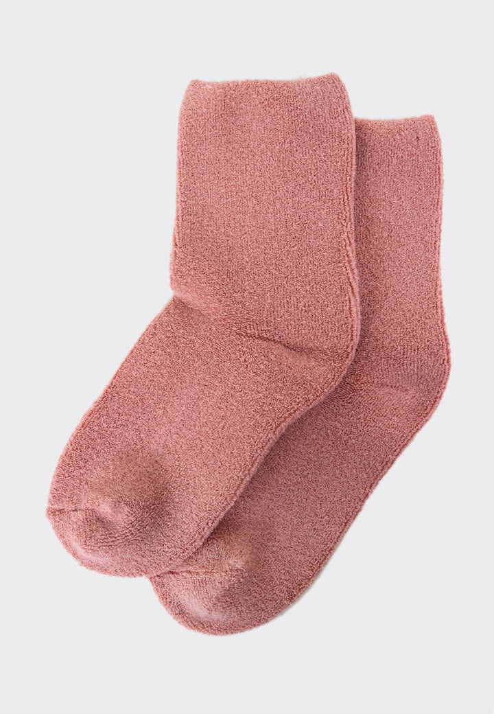 Cloud Socks - mulberry