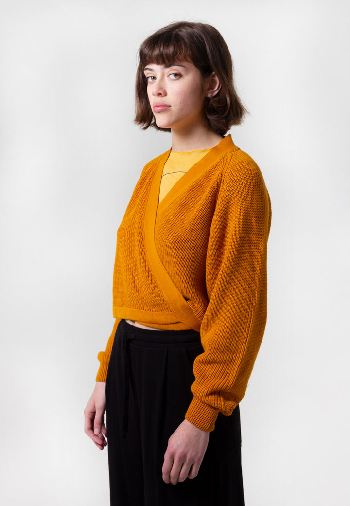 Composure Cardigan - marigold