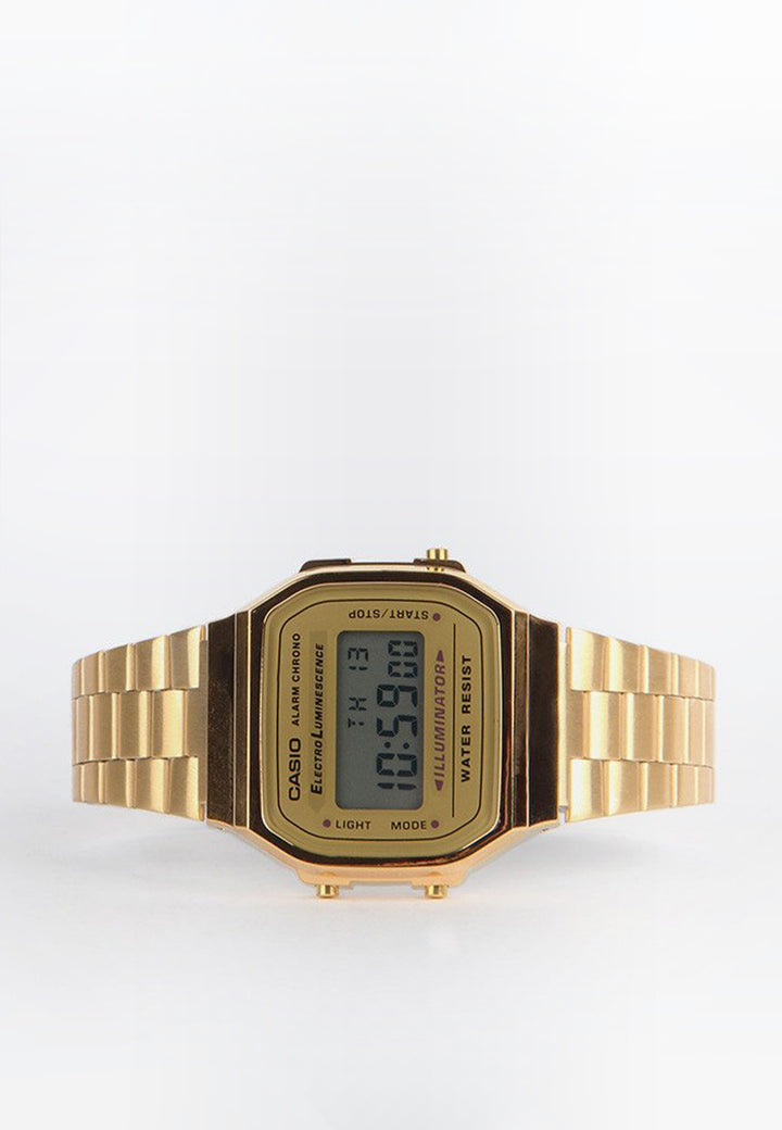 Digital Watch (A168WG-9W) - gold