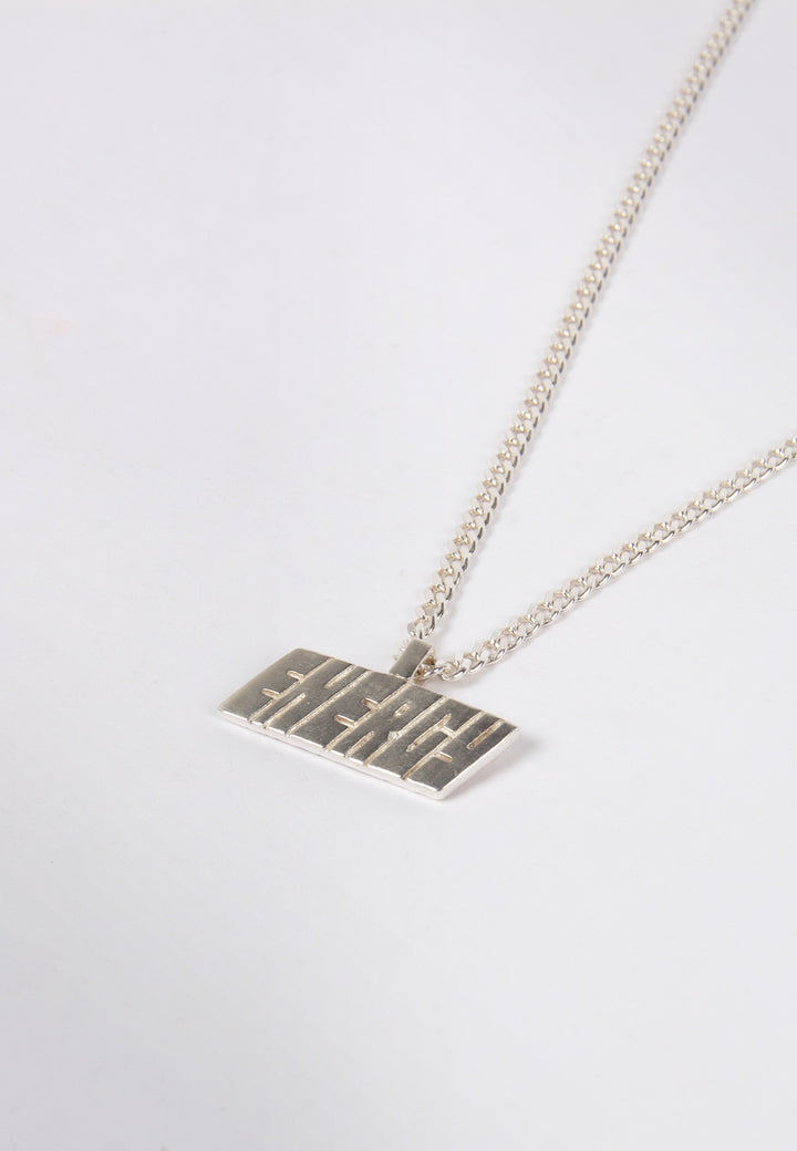 Put In The Game (Energy) Necklace - silver