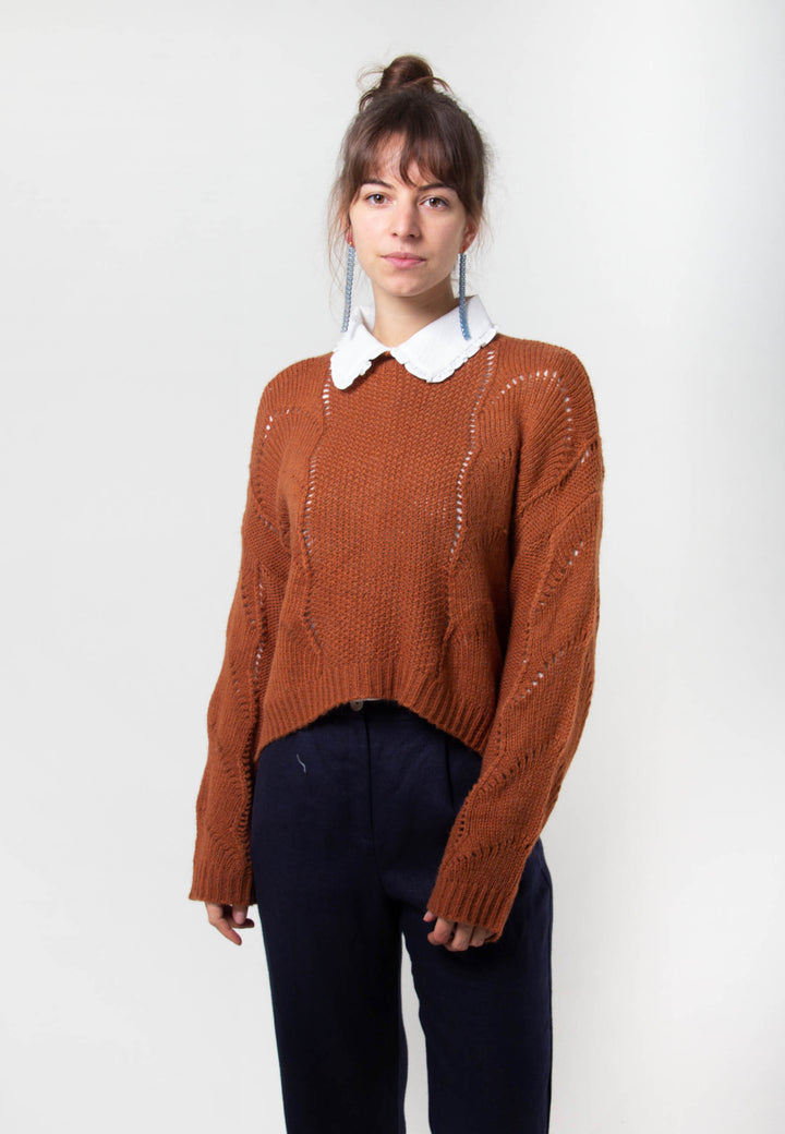 Ellery Knit - brown