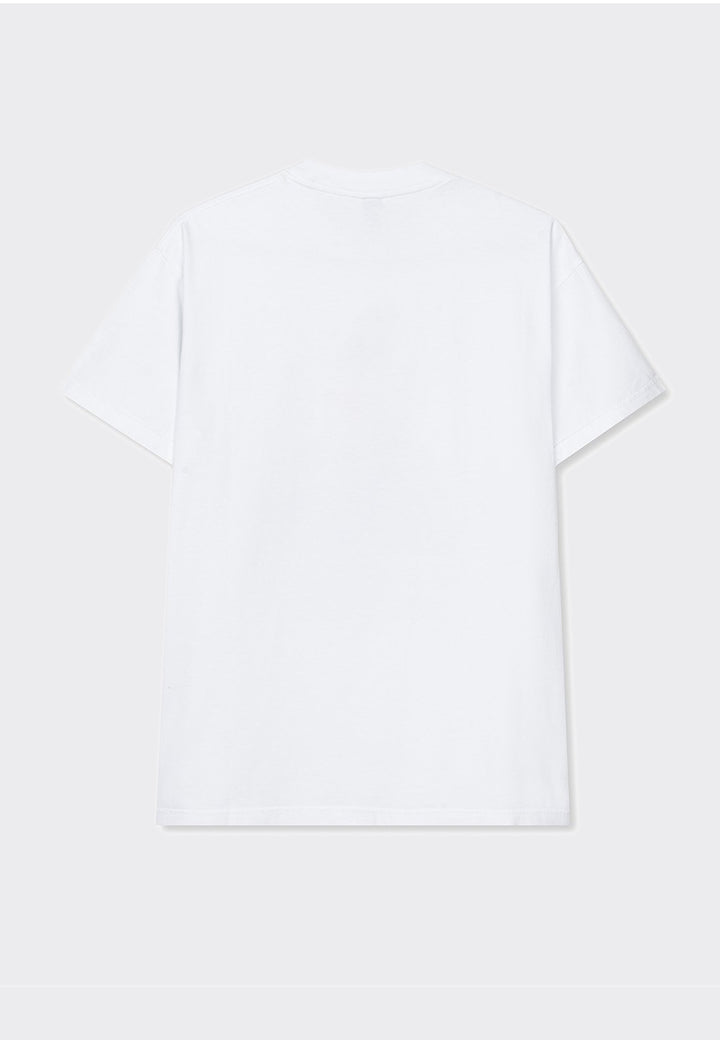 Faceless T-Shirt - white