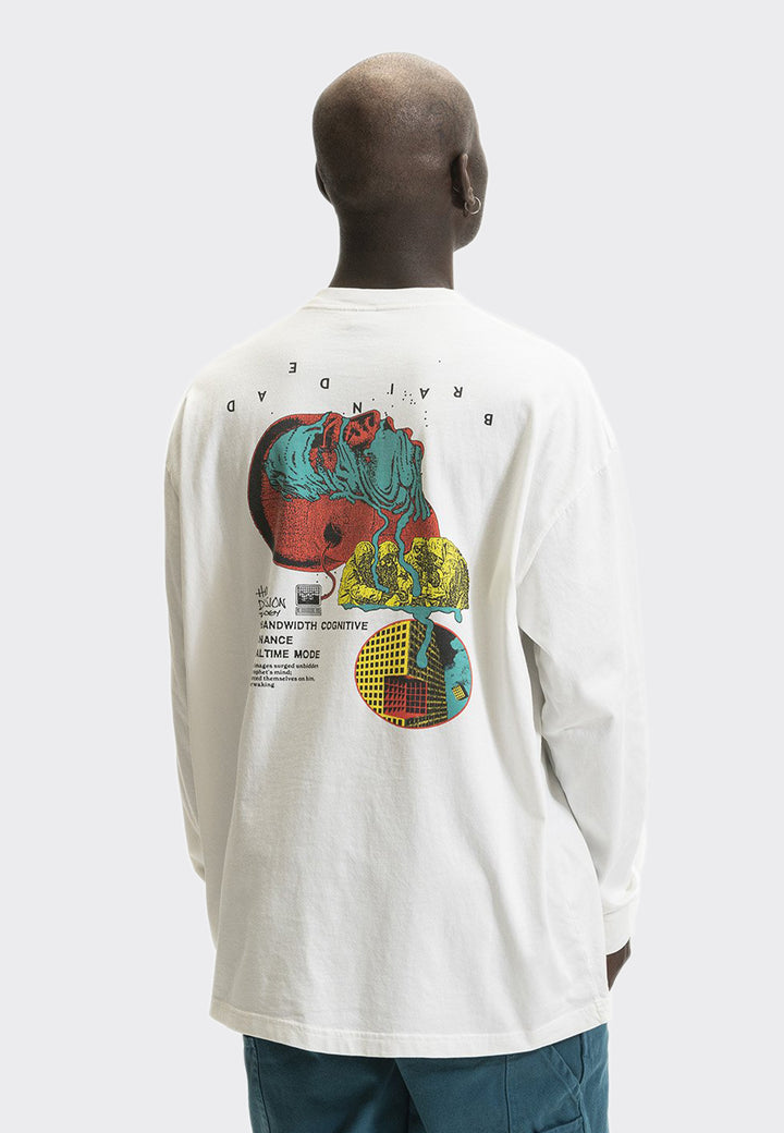 Human Dimension Long Sleeve T-Shirt - natural