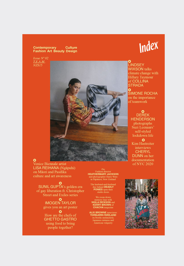 INDEX — Issue Nº02 Lindsey Wixson Cover