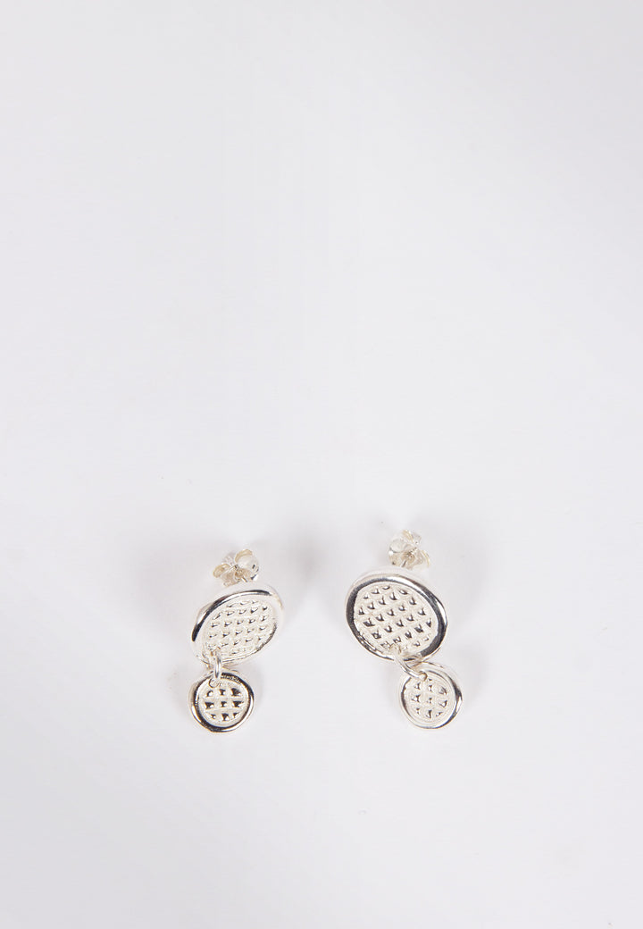 Kiiiiisha Earrings - silver