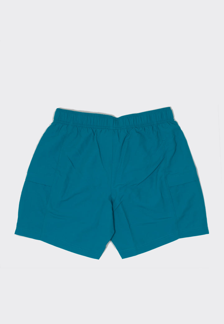 M Class V Belted TR Shorts - fanfare green
