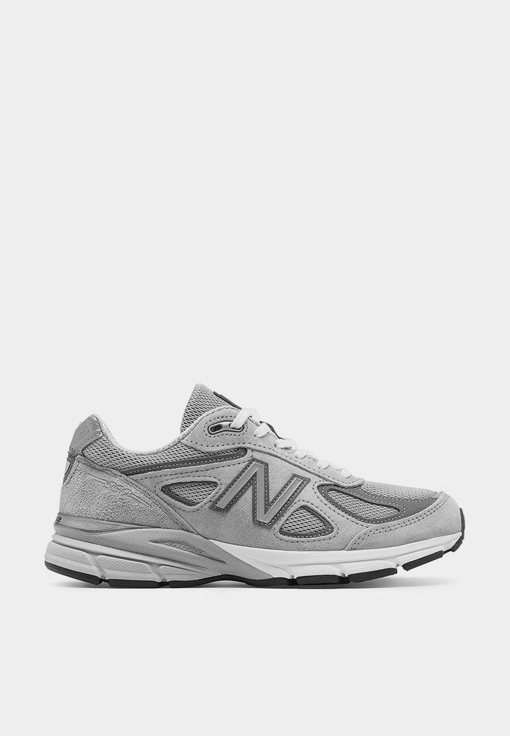 New Balance Womens Runnin 990 v4 - white/grey – Good as Gold