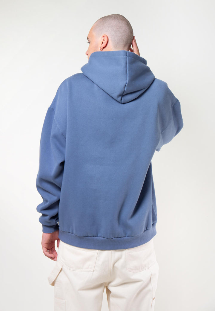 Not In My Day Hoodie - blue