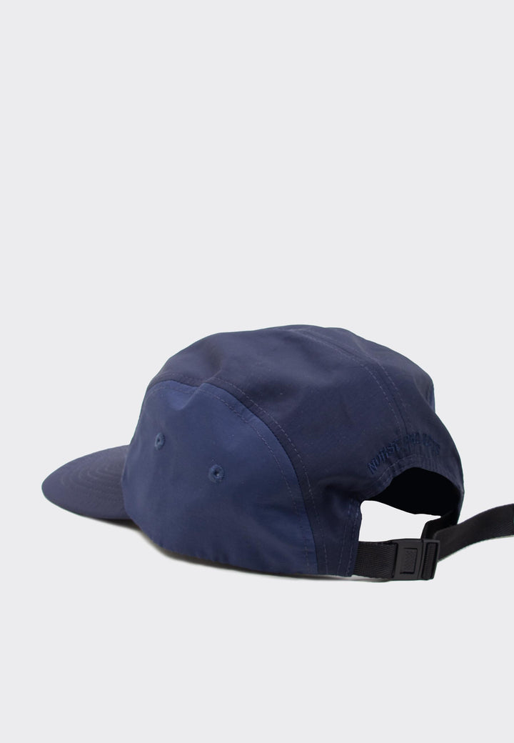 Nylon 4 Panel Cap -  dark navy
