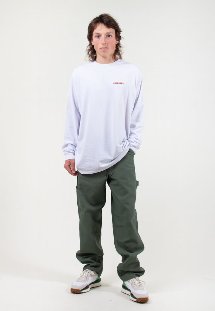 Summit Road Responsibili-Tee Long Sleeve - white