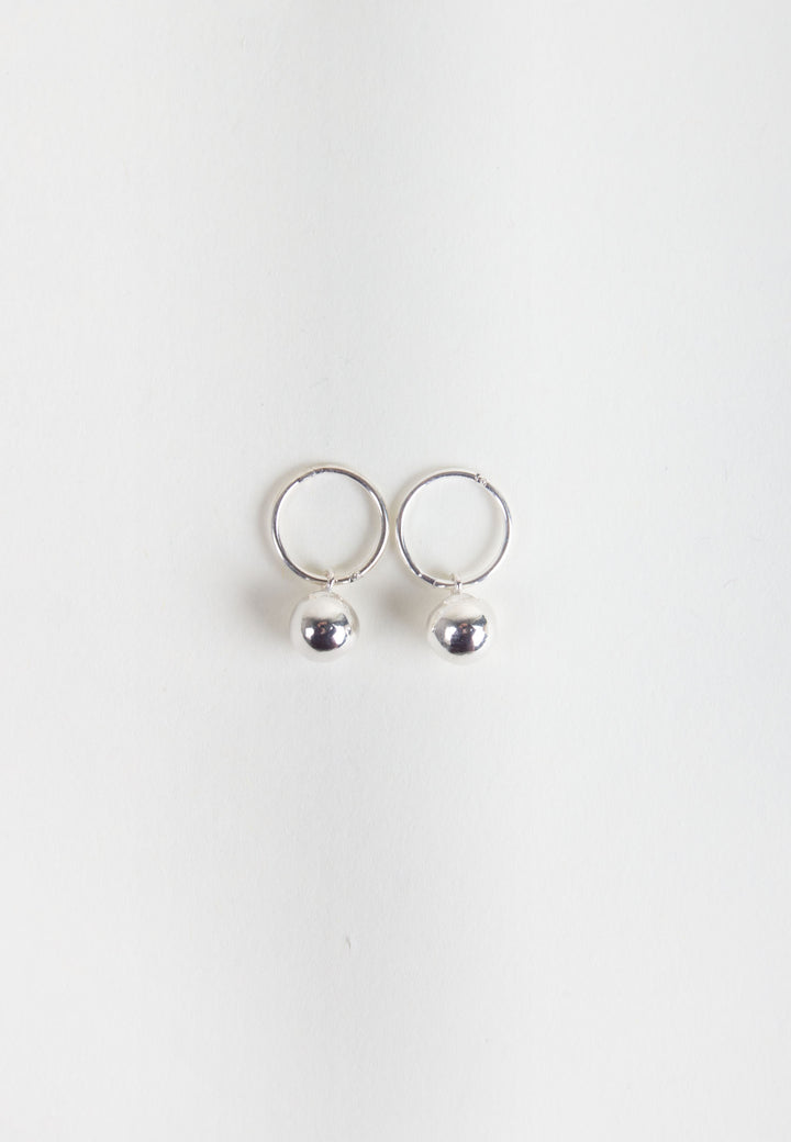 Orb Earrings - silver