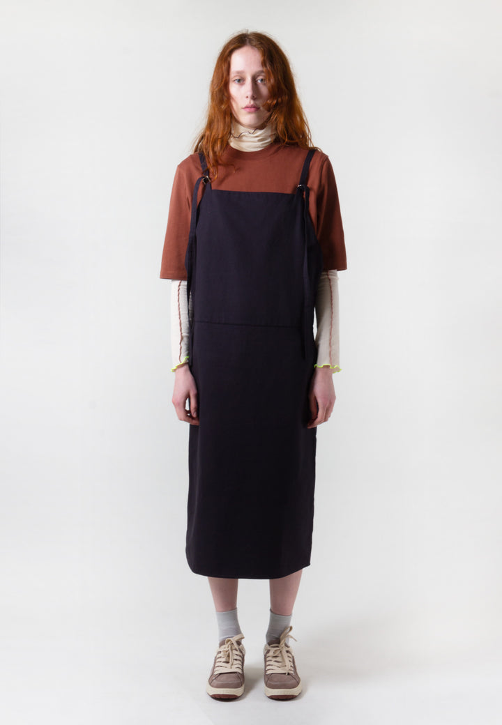 Overall Dress - black
