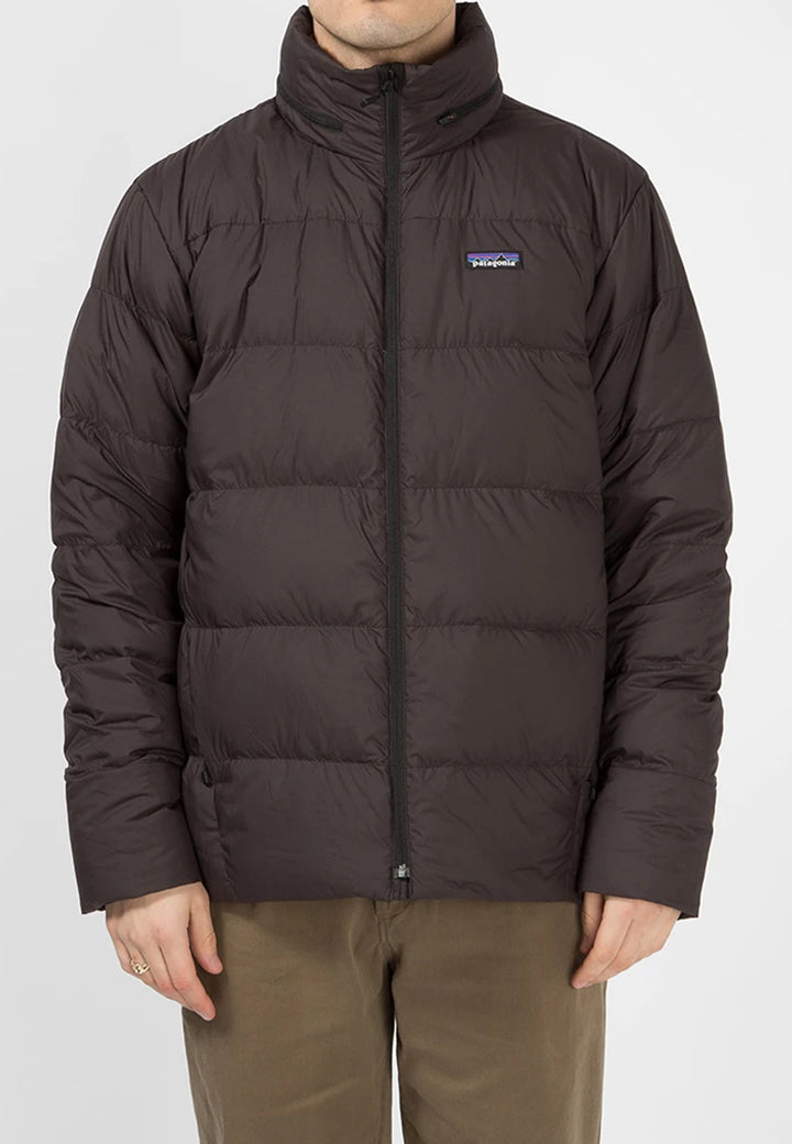 Silent Down Jacket - black
