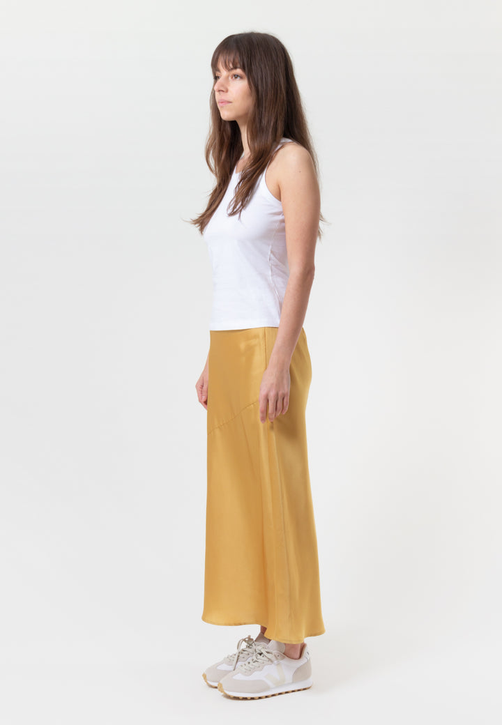 Population Skirt - golden yellow
