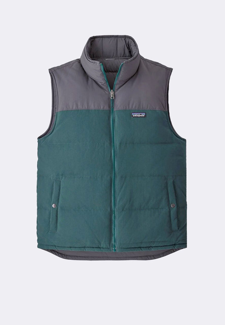 Reversible Bivy Down Vest - piki green