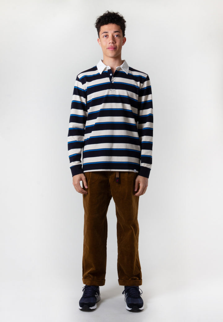 Ruben Compact Cotton Long Sleeve - himmel blue