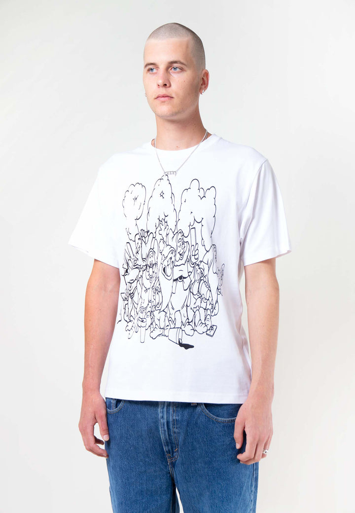 Screen Time T-Shirt - optic white