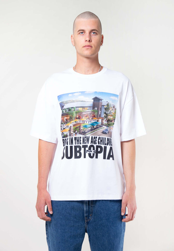 Spotless Oversized T-Shirt - off white