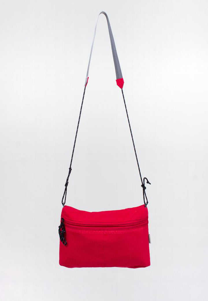 Sacoche Bag Large - red corduroy